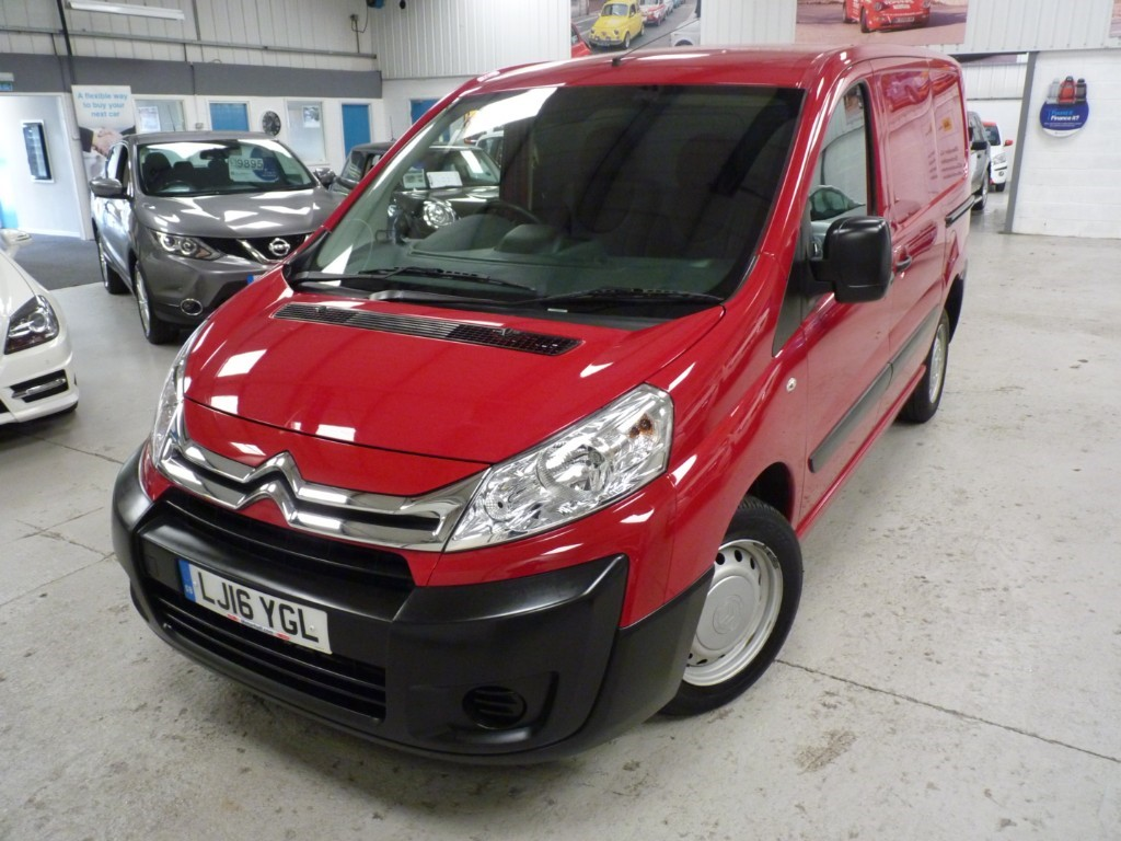 used Citroen Dispatch 1000 L1H1 ENTERPRISE 1.6 HDI + FSH + JUST SERVICED + JUNE 20 MOT + EW/EM/AC/P SENS + SAT NAV in sheffield