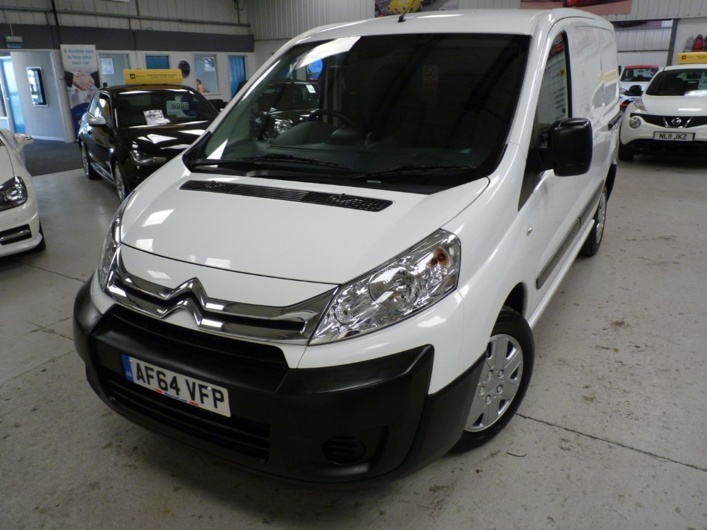 used Citroen Dispatch 1000 L1H1 ENTERPRISE 1.6 HDI + 4 SERVICES + APRIL 20 MOT + BT + CRUISE + AC in sheffield