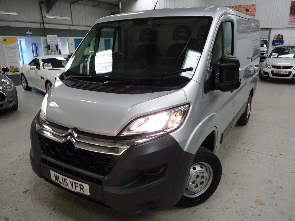 used Citroen Relay 30 L1H1 ENTERPRISE HDI + JUST SERVICED + FEB 20 MOT + 2 KEYS + 1 OWNER in sheffield