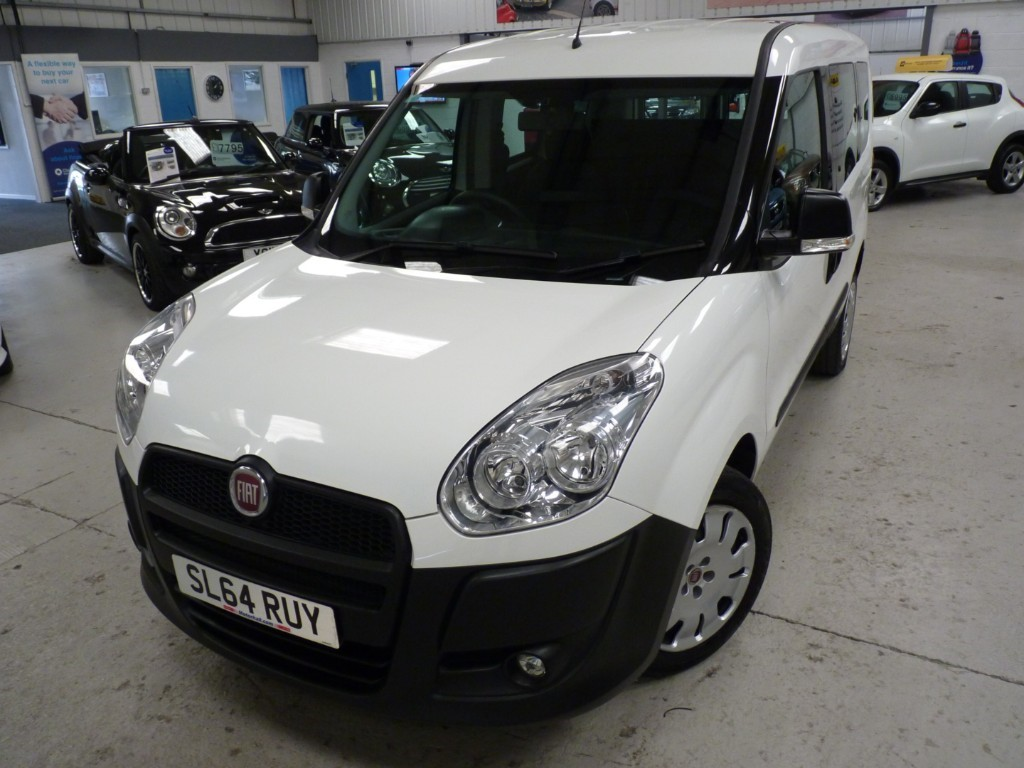 used Fiat Doblo 16V ACTIVE MULTIJET COMBI + 4 SERVICES + JUST SERVICED + MAY 20 MOT + AC + 2 KEYS in sheffield