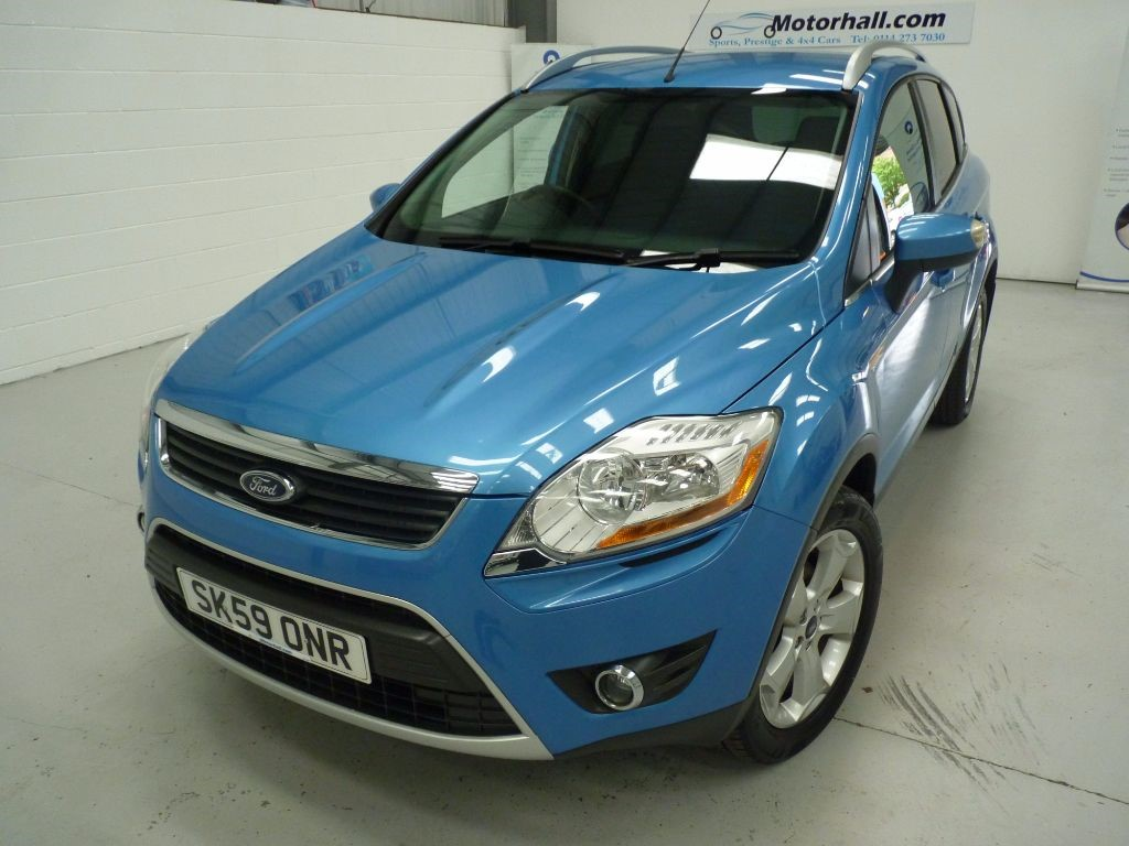 used Ford Kuga ZETEC TDCI AWD + 8 SERVICES + MAY 18 MOT + 4WD in sheffield