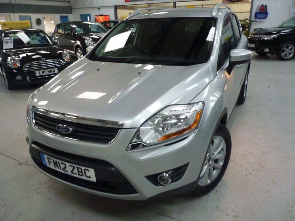 used Ford Kuga TITANIUM TDCI AWD + 4 SVS + 4X4 + JAN 19 MOT in sheffield