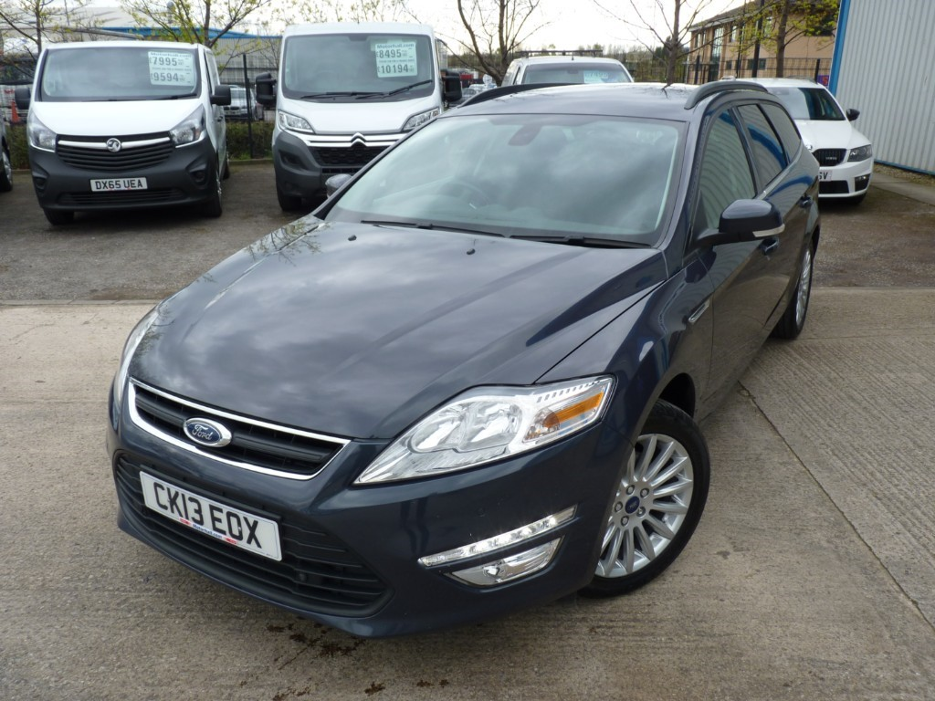 used Ford Mondeo ZETEC BUSINESS EDITION TDCI + 4 SERVICES + MARCH 20 MOT + NAV + BT + PRIVACY in sheffield