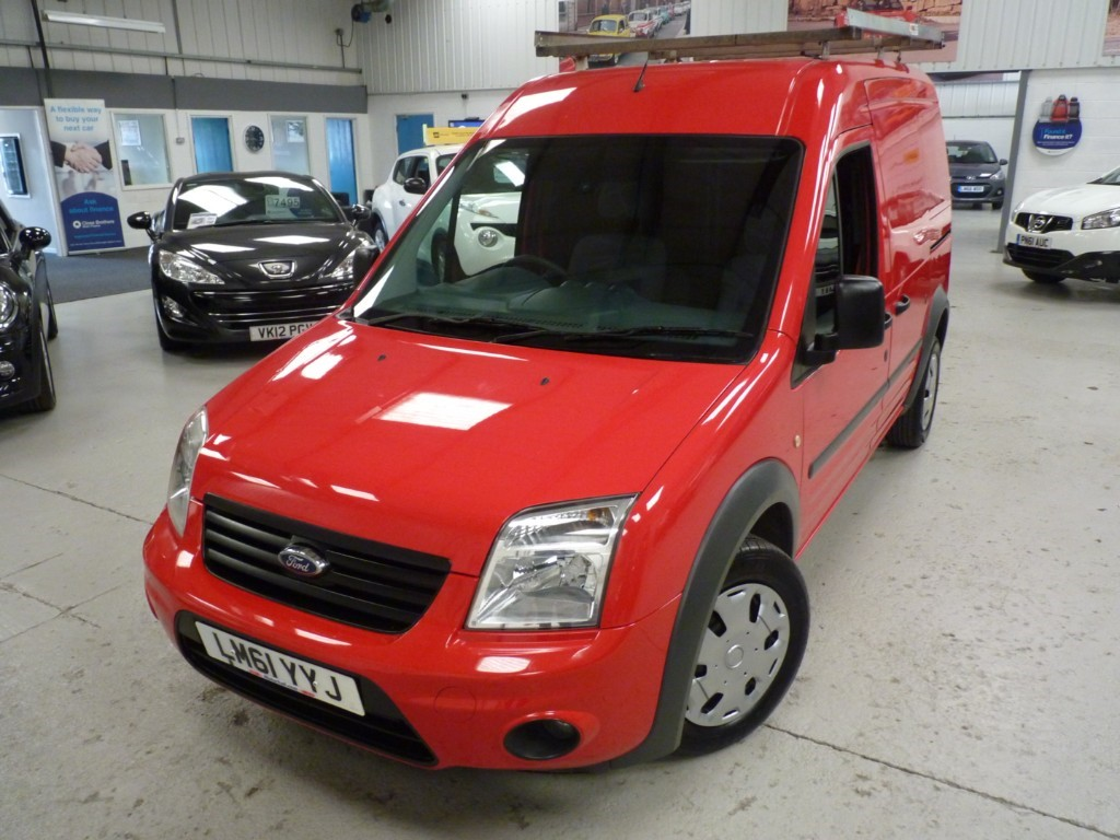 used Ford Transit Connect T230 TREND HR 1.8 TDCI + 5 SERVICES + JUST SERVICED + JULY 20 MOT + EW/EM/BT + H WINDSCREEN in sheffield