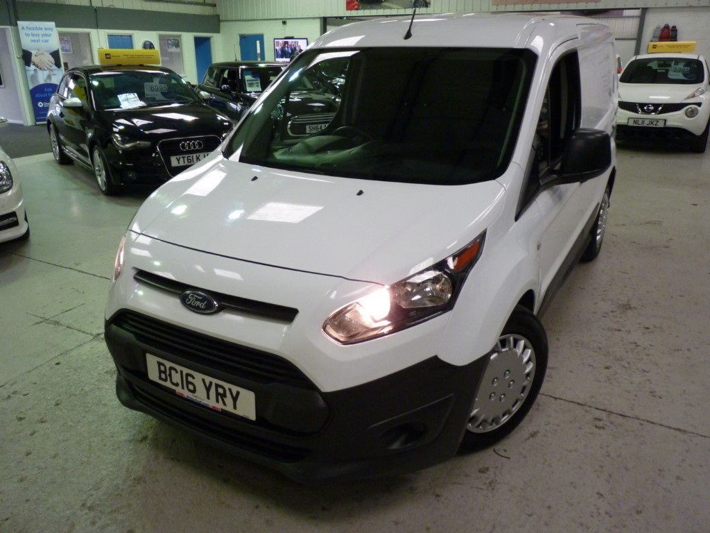 used Ford Transit Connect 200 1.5 TDCI + FSH + MAY 20 MOT + 2 KEYS + AC + EW + DAB in sheffield