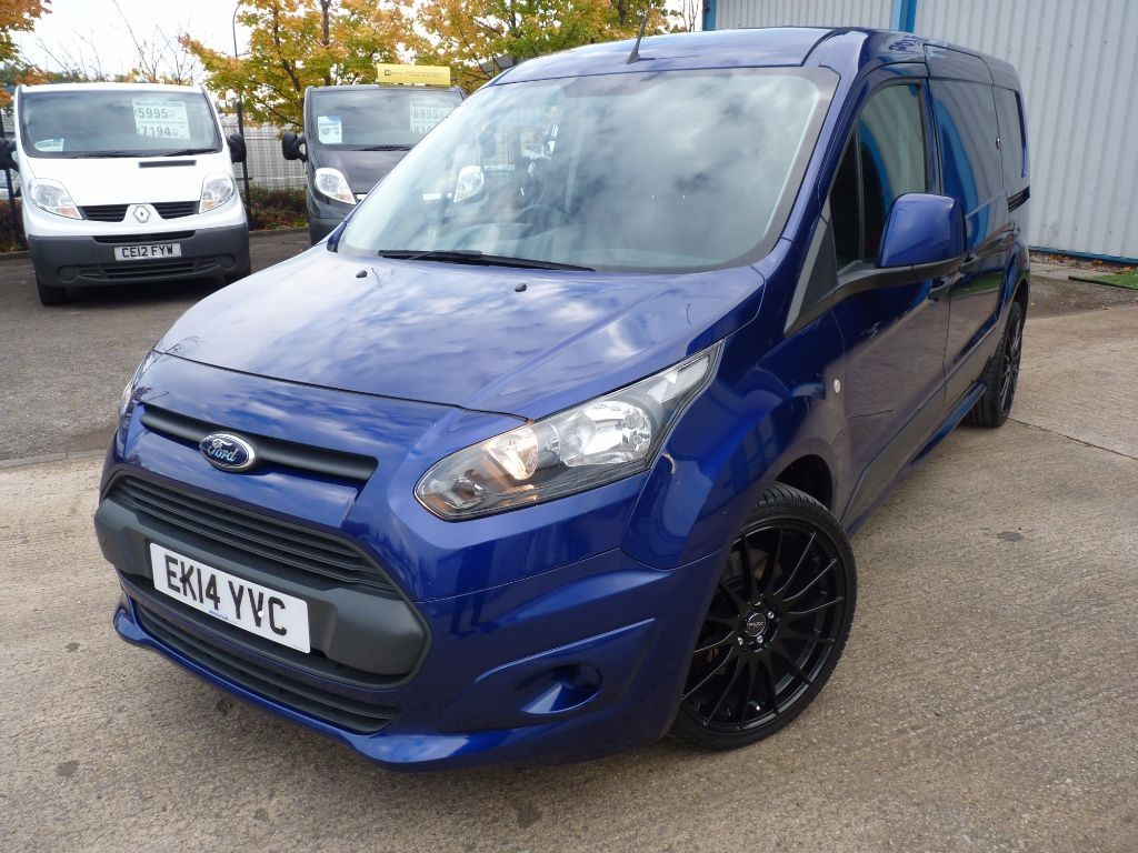 "used Ford Transit Connect 240 L2 1.6 TDCI 115BHP + FSH + 19"" ALLOYS + STUNNING in sheffield"