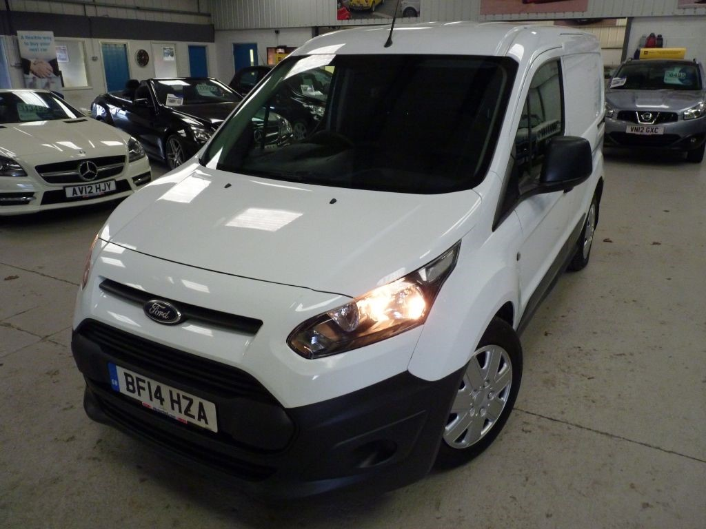 used Ford Transit Connect 200 1.6 TDCI + FSH + JAN 20 MOT + AC + DAB + BT + EW in sheffield