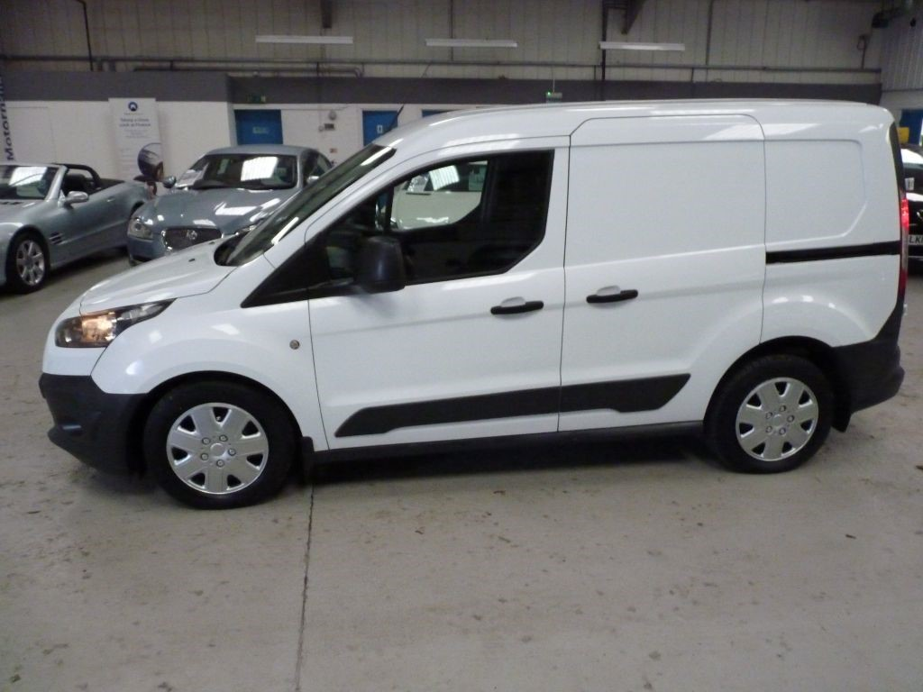 Used White Ford Transit Connect For Sale South Yorkshire