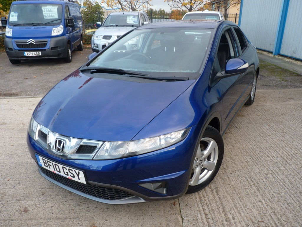 used Honda Civic I-VTEC SE + 8 SERVICES + 1 OWNER + OCT 20 MOT + AC + LOW MILES in sheffield