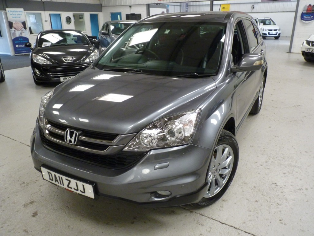 used Honda CR-V I-DTEC ES + SERVICE HIST + JUST SERVICED + JULY 20 MOT + H SEATS + PRIVACY + 2 KEYS + 1 OWNER in sheffield