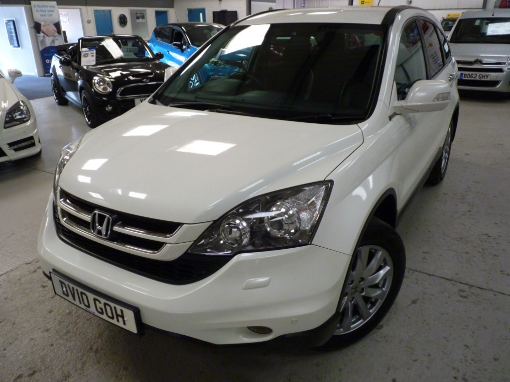 used Honda CR-V I-DTEC ES-T + SAT NAV+1 OWNER + LONG MOT in sheffield