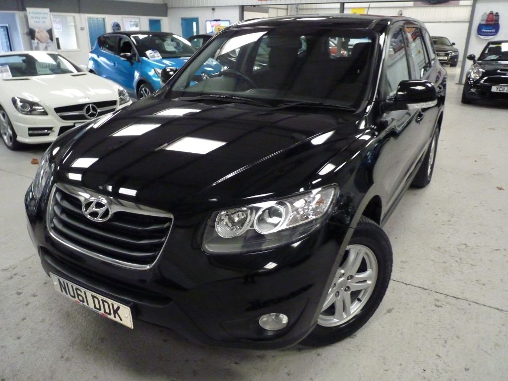 used Hyundai Santa Fe STYLE CRDI + JUST SERVICED + FEB 20 MOT + 4WD + AC in sheffield