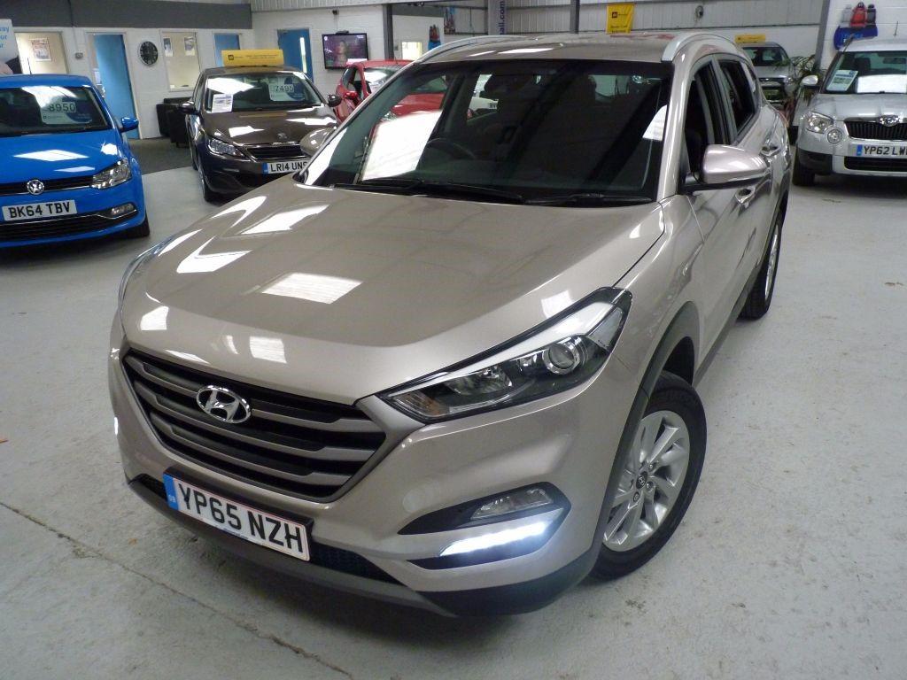 used Hyundai Tucson GDI SE BLUE DRIVE + JUST SERV + 1 OWNER + 2 KEYS in sheffield