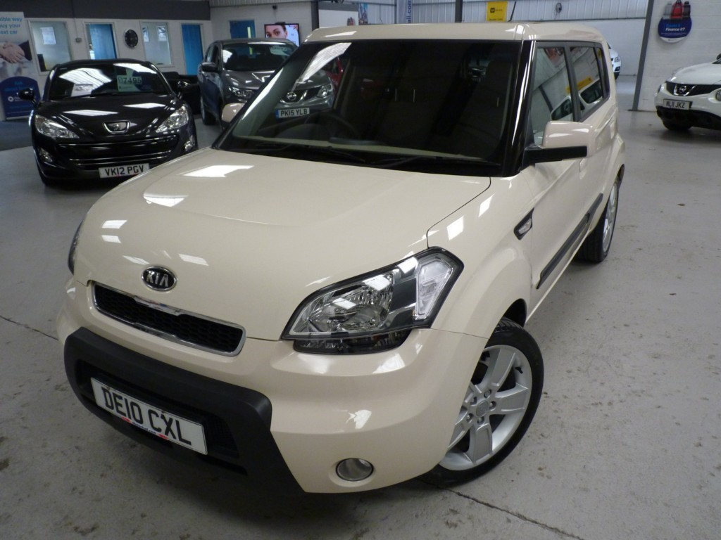 used Kia Soul SHAKER 1.6 + 9 SERVICE STAMPS + JULY 20 MOT + REVERSING CAMERA + 18