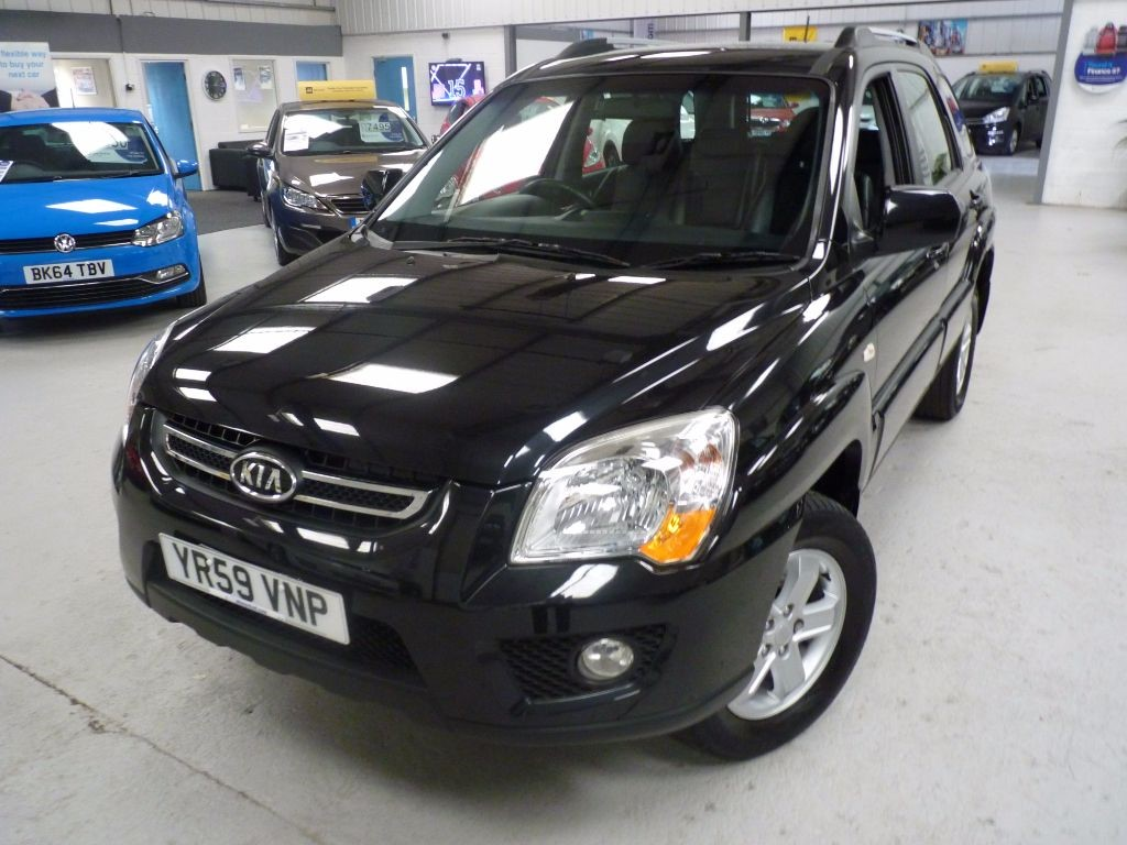 used Kia Sportage XS CRDI + 7 SERVICES + 1 OWNER + 2 KEYS in sheffield
