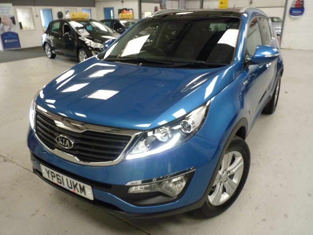 used Kia Sportage KX-2 2.0+ 4WD + 6 SERVICE STAMPS + MAY 20 MOT + 2 KEYS in sheffield