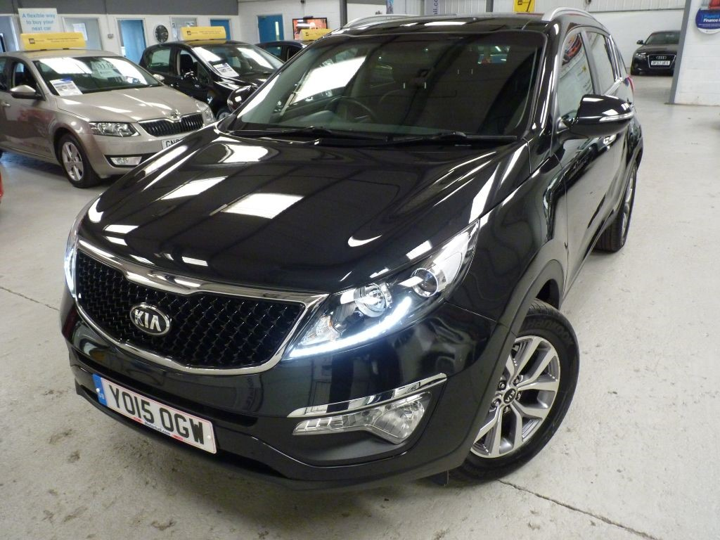 used Kia Sportage CRDI 2 ISG + 3 SERVICES + JUST SERV + SEPT 19 MOT + 1 OWNER in sheffield