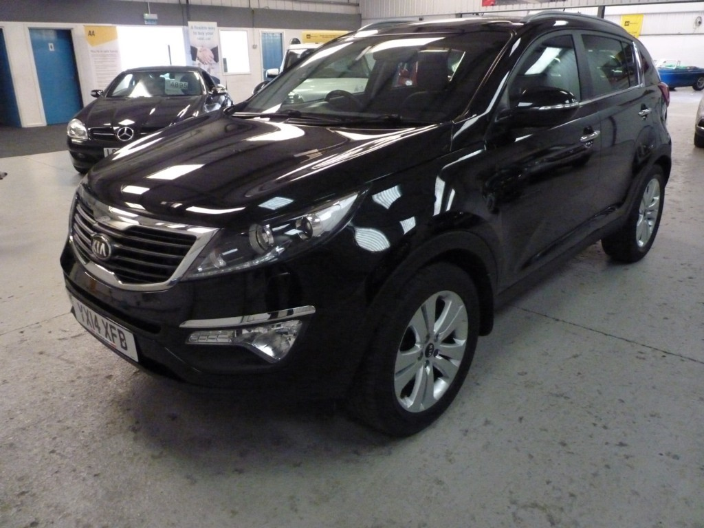 used Kia Sportage SALE WAS £9250 NOW £8495 USED CRDI 3 + 5 SERVICES + JAN 21 MOT + H SEATS + LEATHER + BT + SUNROOF in sheffield