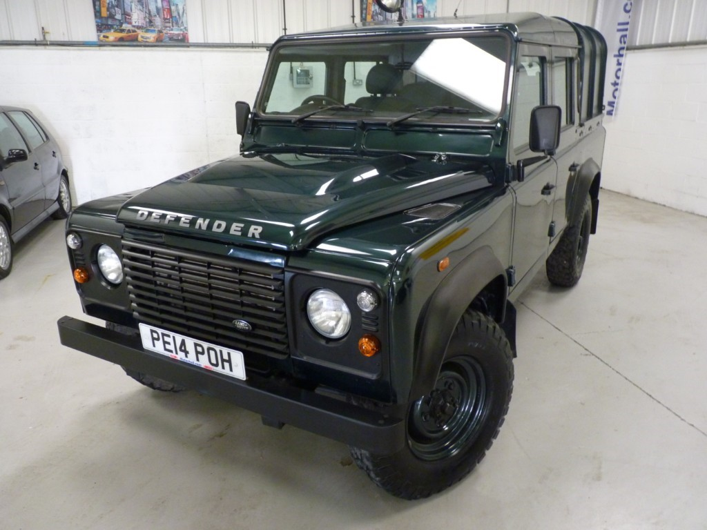 used Land Rover Defender USED VAN SALE 110 DCB 2.2 TDCI CREW CAB PICKUP * SALE - WAS £15829 + VAT - NOW £15000 + VAT * in sheffield