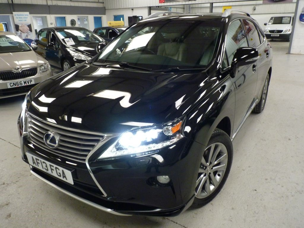 used Lexus RX 450h PREMIER + 7 SERVICES + ONE OWNER + NAV + HUD in sheffield