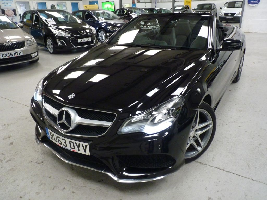 used Mercedes E220 CDI AMG SPORT + 4 SVS + NAV in sheffield