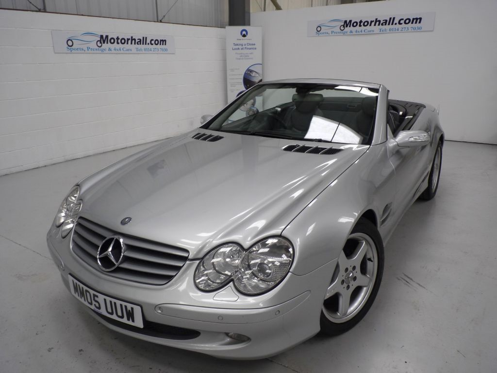 used Mercedes SL SL350 + 8 SERVICES + NAV in sheffield