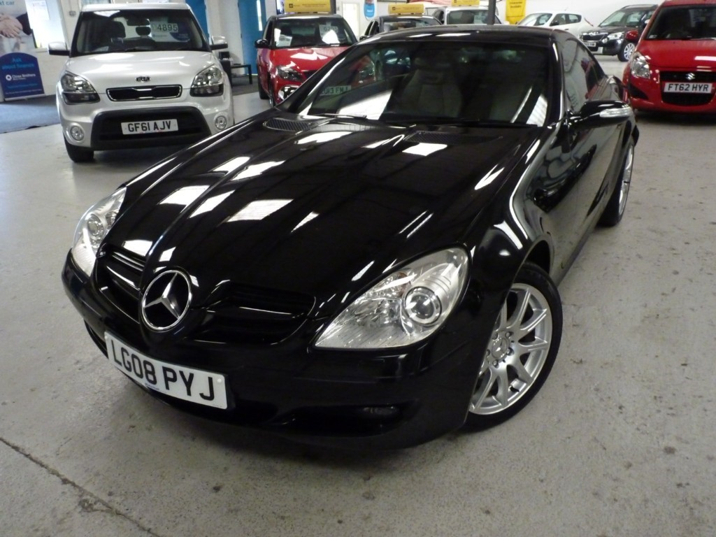 used Mercedes SLK280 3.0 AUTO CONVERTIBLE + 10 SERVICE STAMPS + AUG 20 MOT + NAV + H SEATS + LEATHER in sheffield