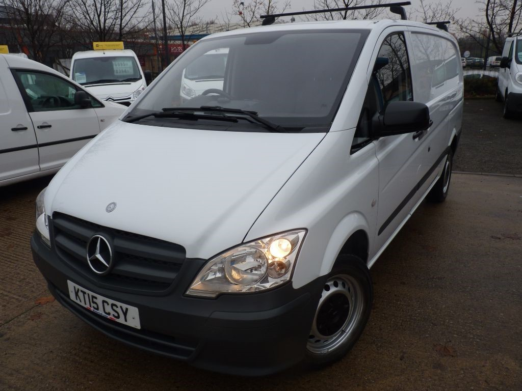 used Mercedes Vito 113 CDI + NO VAT + JUST SVS +CRUISE in sheffield