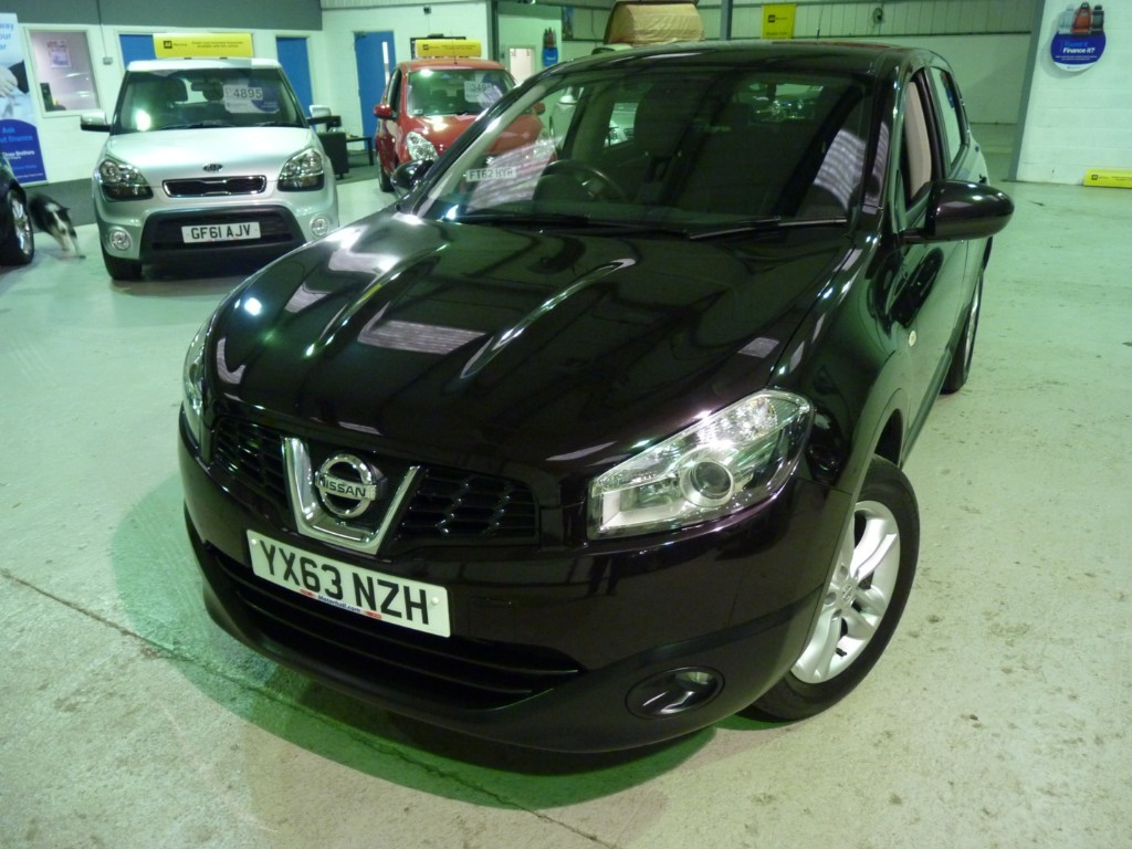 used Nissan Qashqai USED CAR SALE +1.5 DCI ACENTA * SALE - WAS £6495 - NOW £5995 * in sheffield