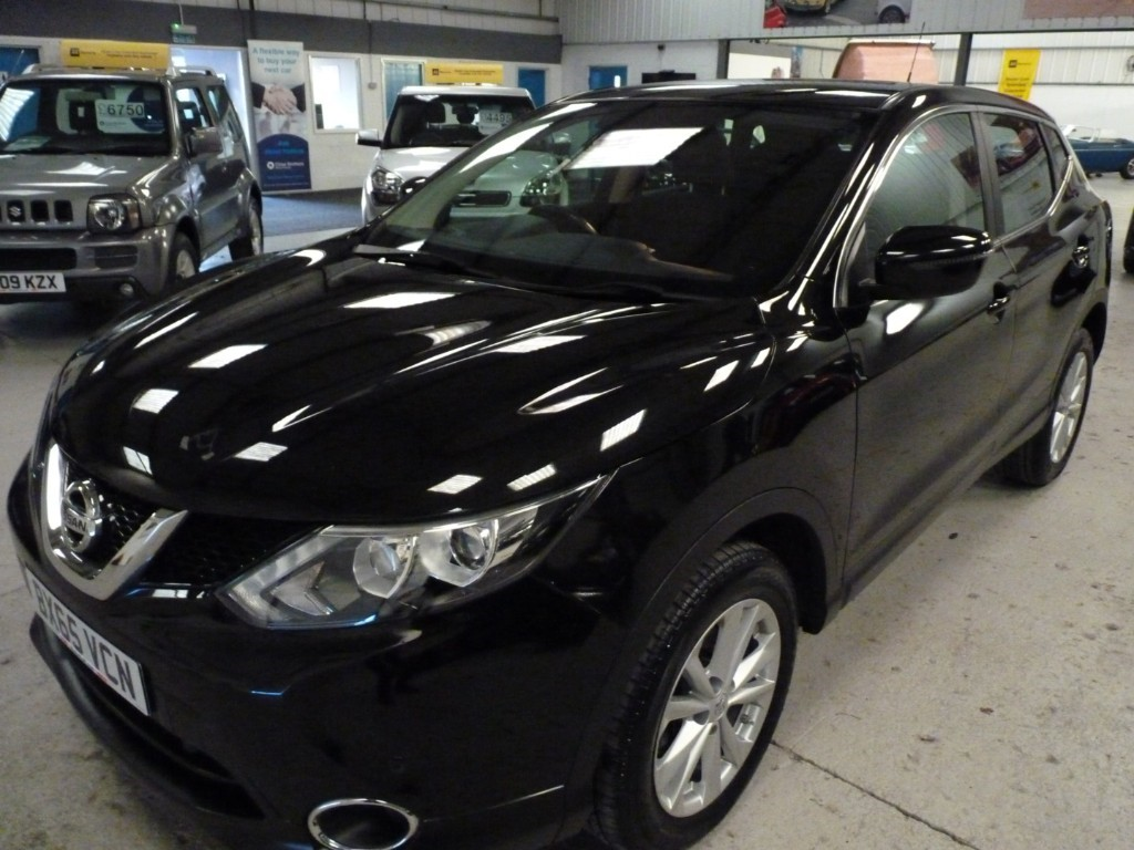 used Nissan Qashqai USED CAR SALE +DCI ACENTA SMART VISION * SALE - WAS £8795 - NOW £8395 * in sheffield