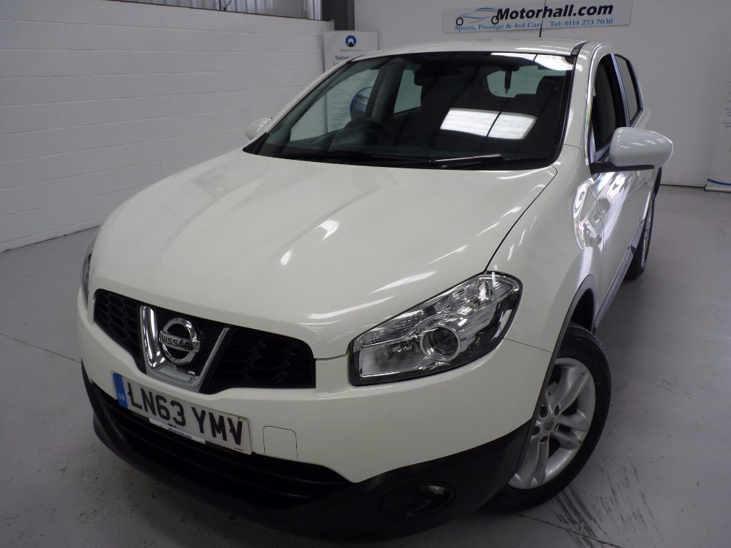 used Nissan Qashqai ACENTA DCI + JUST SERVICED + 1 OWNER + 2 KEYS in sheffield