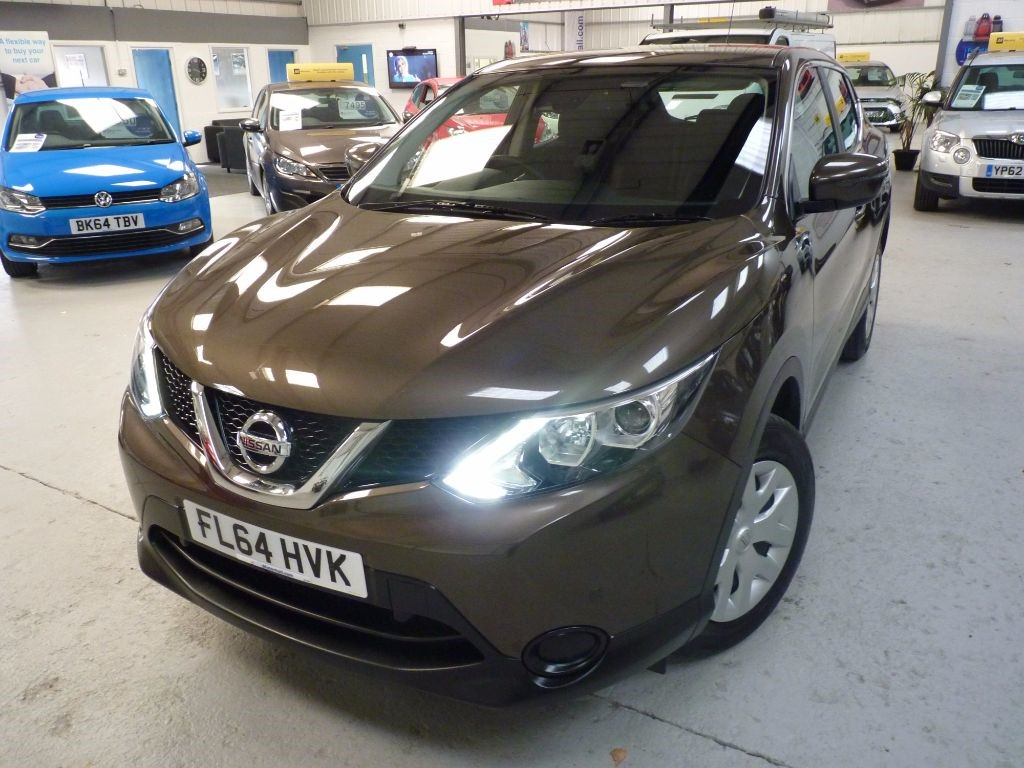 used Nissan Qashqai DCI VISIA SMART VISION + FSH + 1 OWNER + 2 KEYS in sheffield