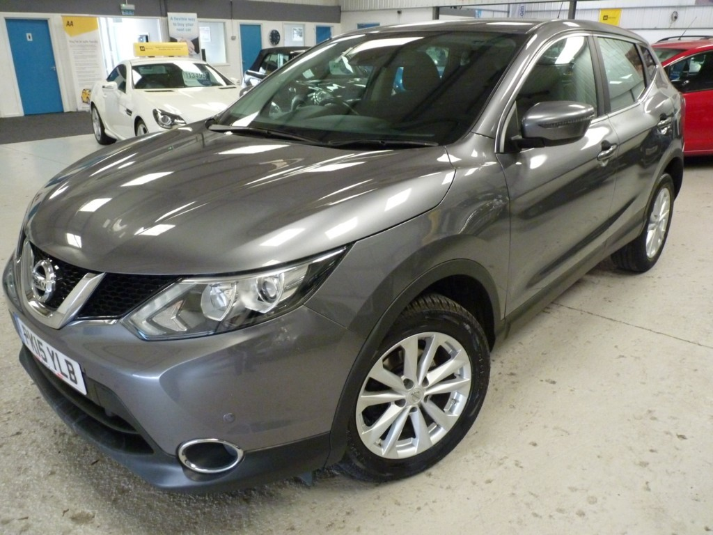used Nissan Qashqai DCI ACENTA SMART VISION in sheffield