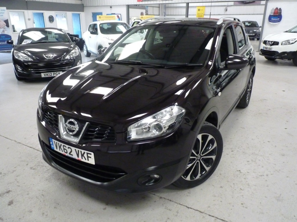 used Nissan Qashqai DCI N-TEC PLUS + 7 SERVICED + JUST SERVICED + JULY 20 MOT + 2 KEYS + NAV + PAN ROOF + REV CAMERA in sheffield