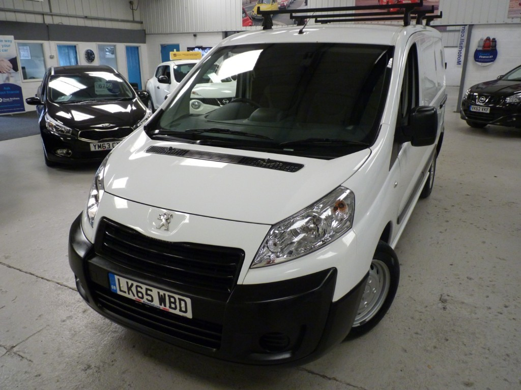 used Peugeot Expert HDI 1200 L1H1 + JUST SERVICED + SEPT 20 MOT + BLUETOOTH + AC + RCL + ROOF RACK in sheffield