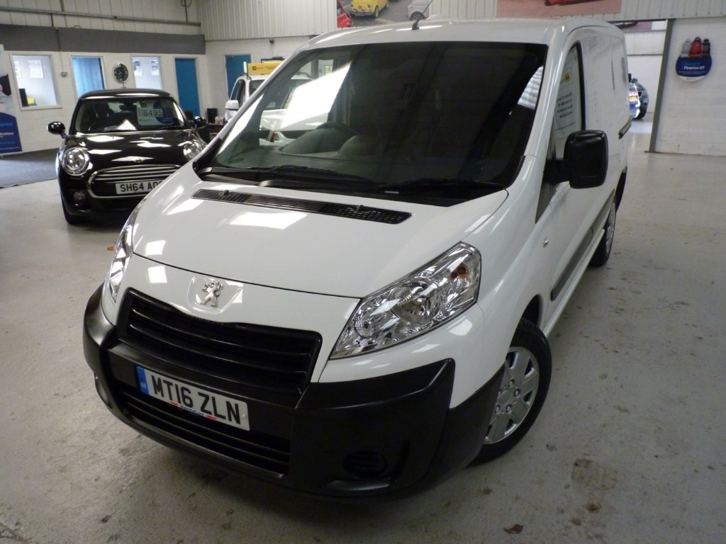 used Peugeot Expert HDI 1000 L1H1 PROFESSIONAL + SERVICE HIST + MAY 20 MOT + AC + BT + EW/EM + 1 OWNER in sheffield