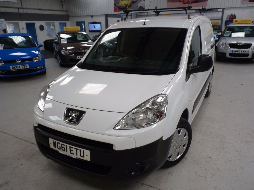 used Peugeot Partner HDI SE L1 625 + NO VAT + 5 SVS + 2 KEYS in sheffield