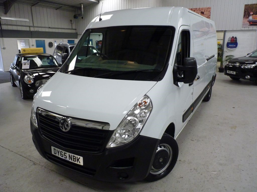 used Vauxhall Movano F3500 L3H2 CDTI + JUST SVS + 1 OWNER + BT in sheffield