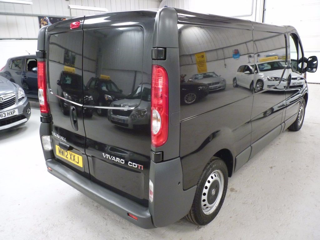 Used Black Vauxhall Vivaro For Sale South Yorkshire