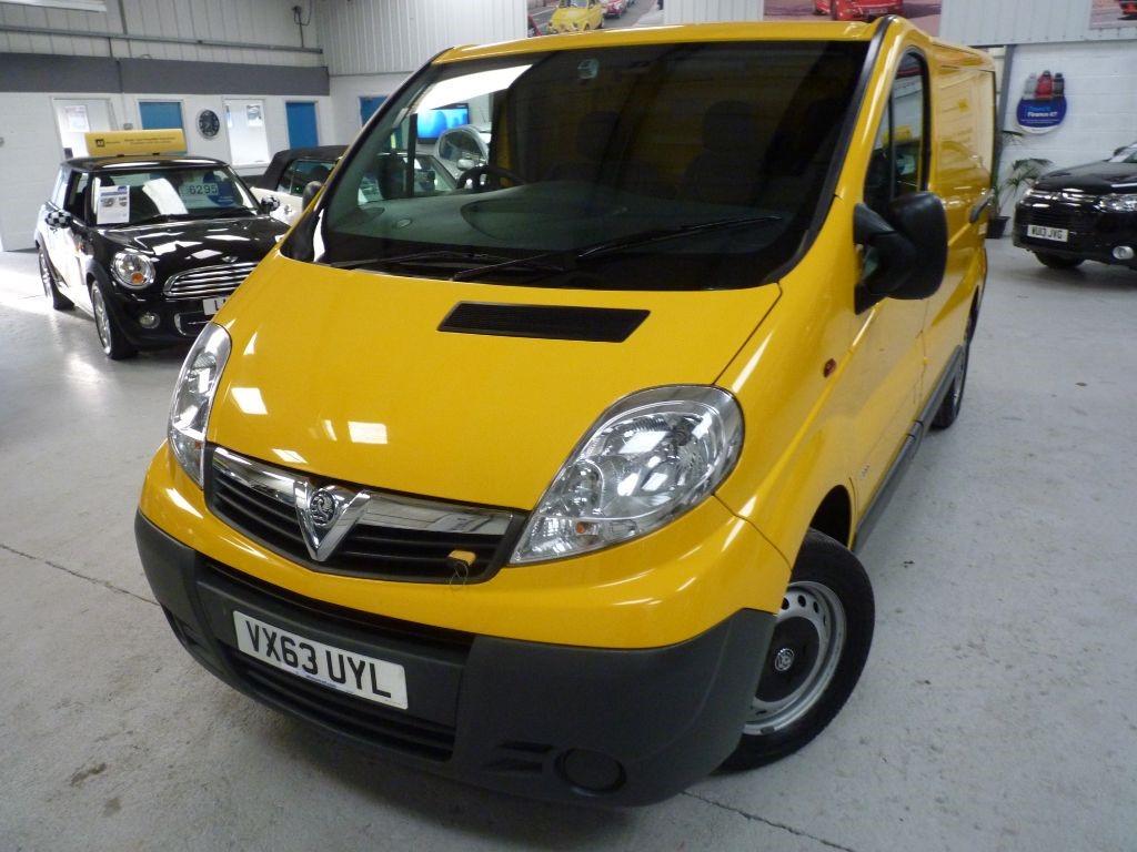 used Vauxhall Vivaro 2900 CDTI SWB ECOFLEX + 4 SVS + 1 OWNER + 2 KEYS in sheffield