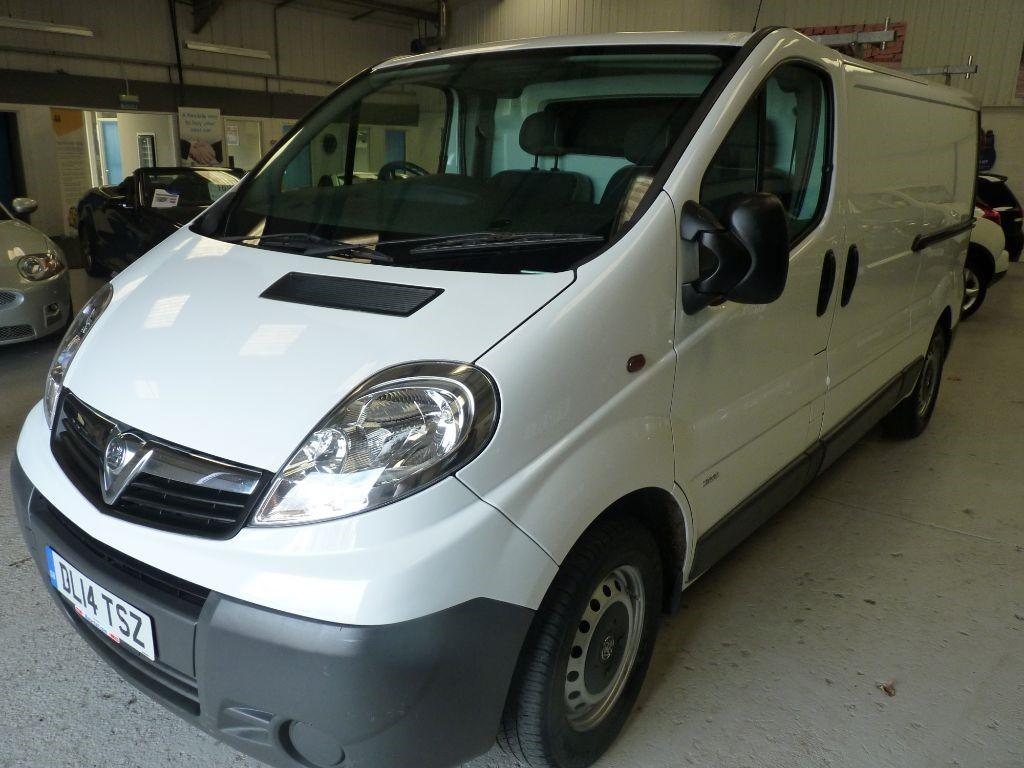 used Vauxhall Vivaro 2900 CDTI ECOFLEX LWB + SERV HIST + JUST SERV  in sheffield