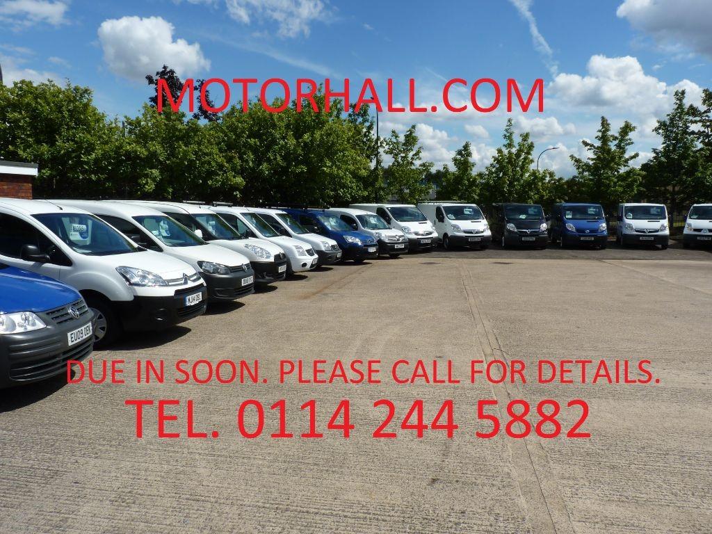 used Vauxhall Vivaro 2700 L1H1 CDTI + 3 SVS STAMPS + FEB 20 MOT + NO VAT + ONE OWNER + 2 KEYS in sheffield