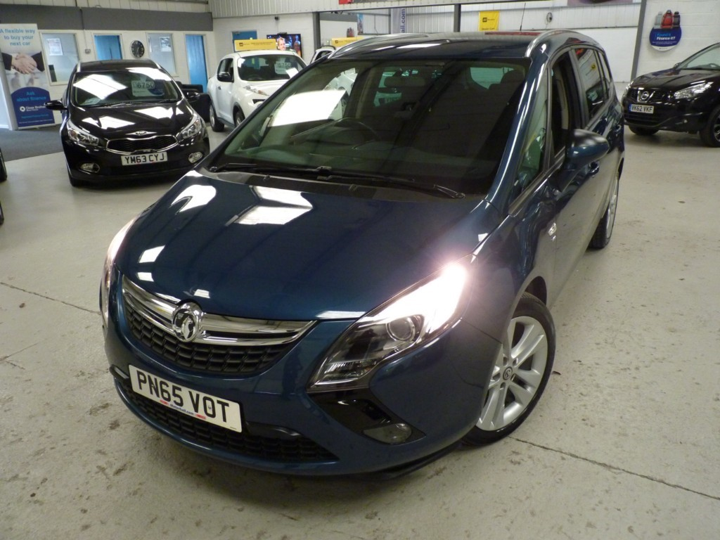 used Vauxhall Zafira Tourer SRI 1.4 TURBO + 5 SERVICES + JUST SERVICED + AUG 20 MOT + DAB + AC + CRUISE + 7 SEATS in sheffield