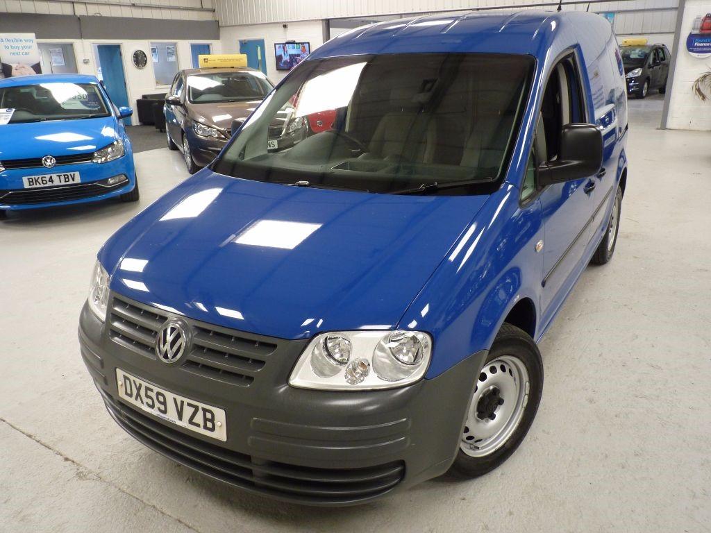 used VW Caddy C20 PLUS SDI + JUST SERV + NO VAT + TB DONE in sheffield