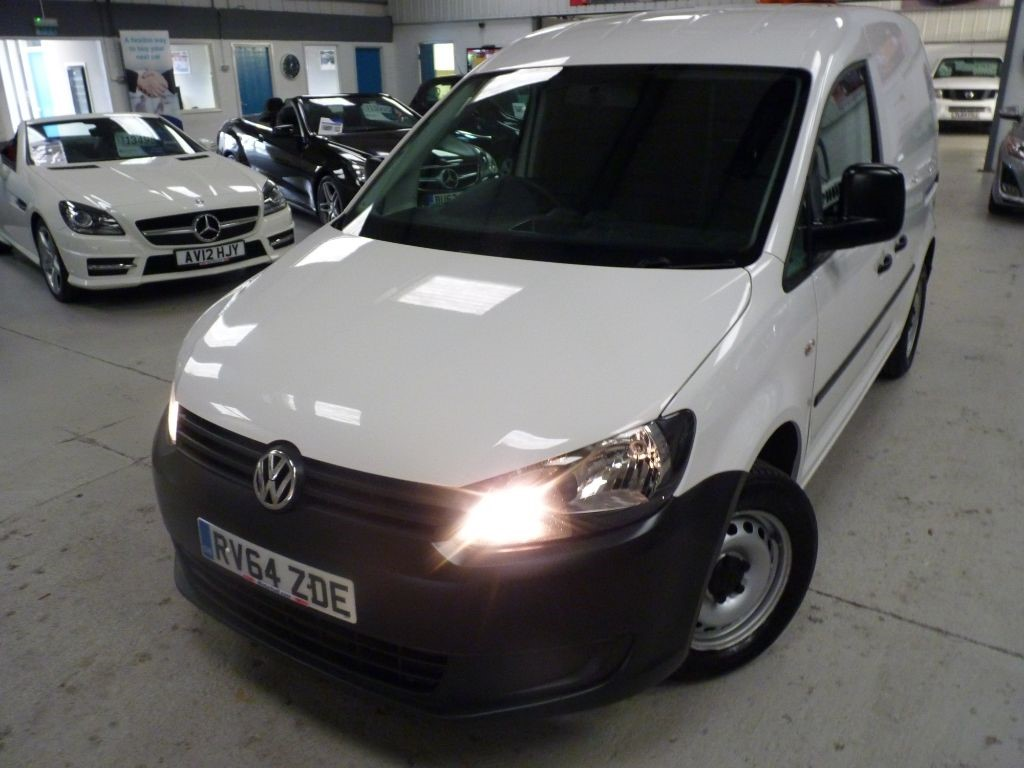 used VW Caddy C20 TDI STARTLINE + 7 SERVICES + NOV 19 MOT + 2 KEYS in sheffield