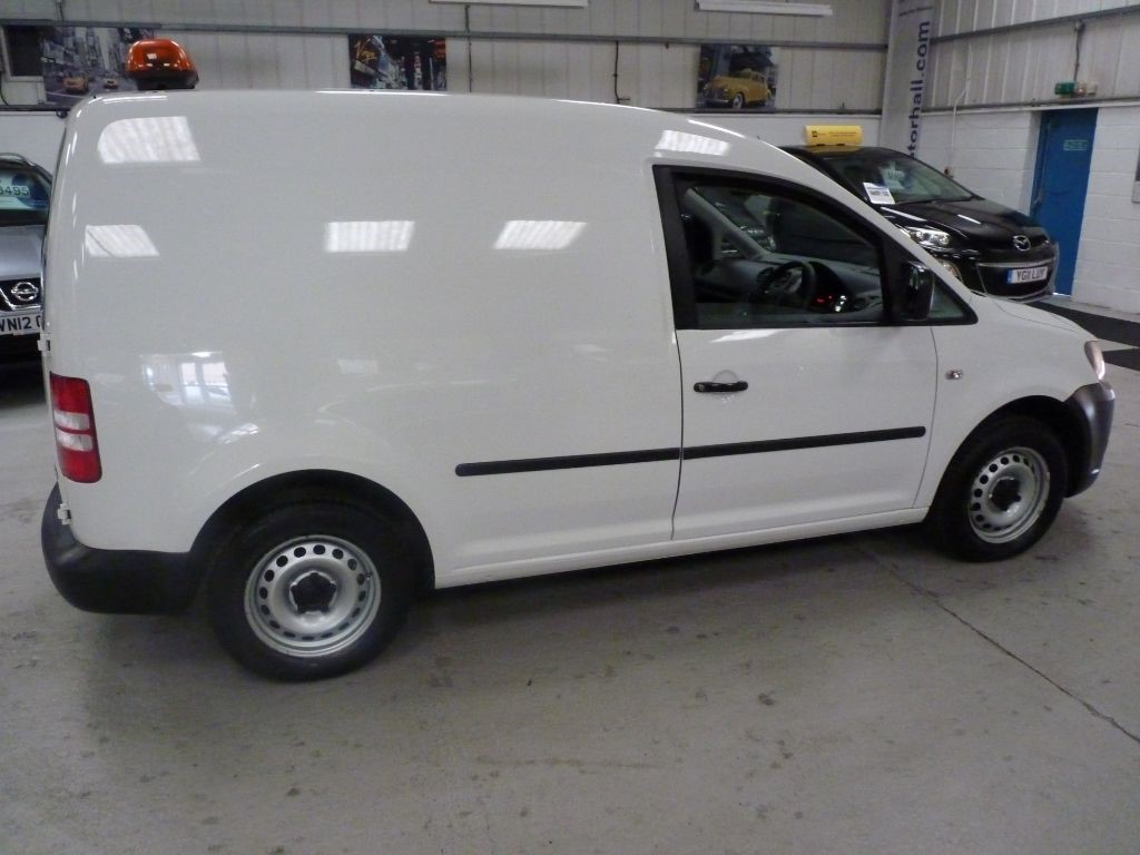 Used White Vw Caddy For Sale South Yorkshire