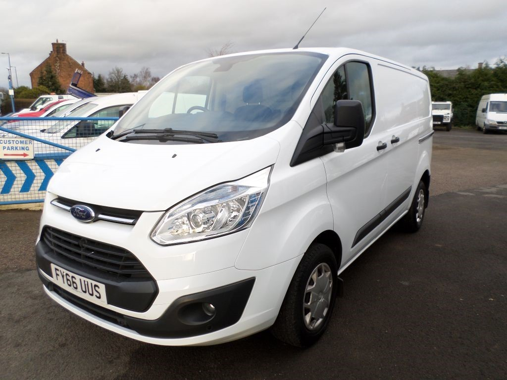 Used White Ford Transit Custom For Sale Dumfries And