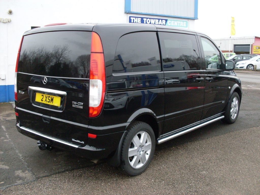 used black mercedes vito for sale dumfries and galloway. Black Bedroom Furniture Sets. Home Design Ideas