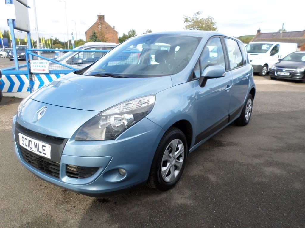 used blue renault scenic for sale dumfries and galloway. Black Bedroom Furniture Sets. Home Design Ideas