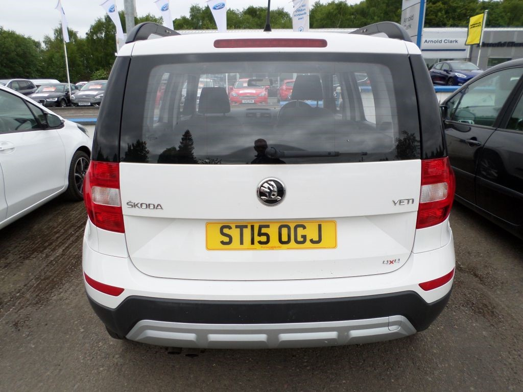 used white skoda yeti for sale dumfries and galloway. Black Bedroom Furniture Sets. Home Design Ideas